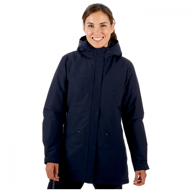 Mammut Chamuera Hs Thermo Hooded Parka Coat Women S Buy Online Bergfreunde Eu