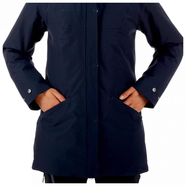 Mammut Chamuera Hs Thermo Hooded Parka Coat Women S Buy Online Alpinetrek Co Uk