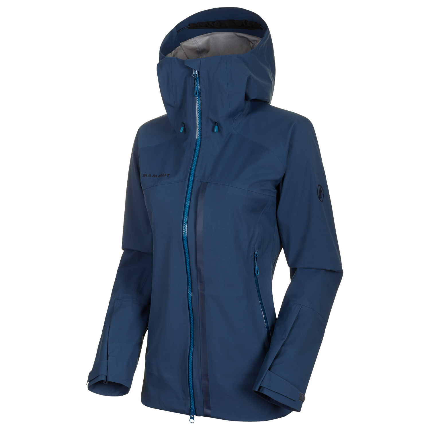complimentary shipping best collection world-wide selection of Mammut - Women's Masao HS Hooded Jacket - Waterproof jacket - Bright White  / Golden | XS