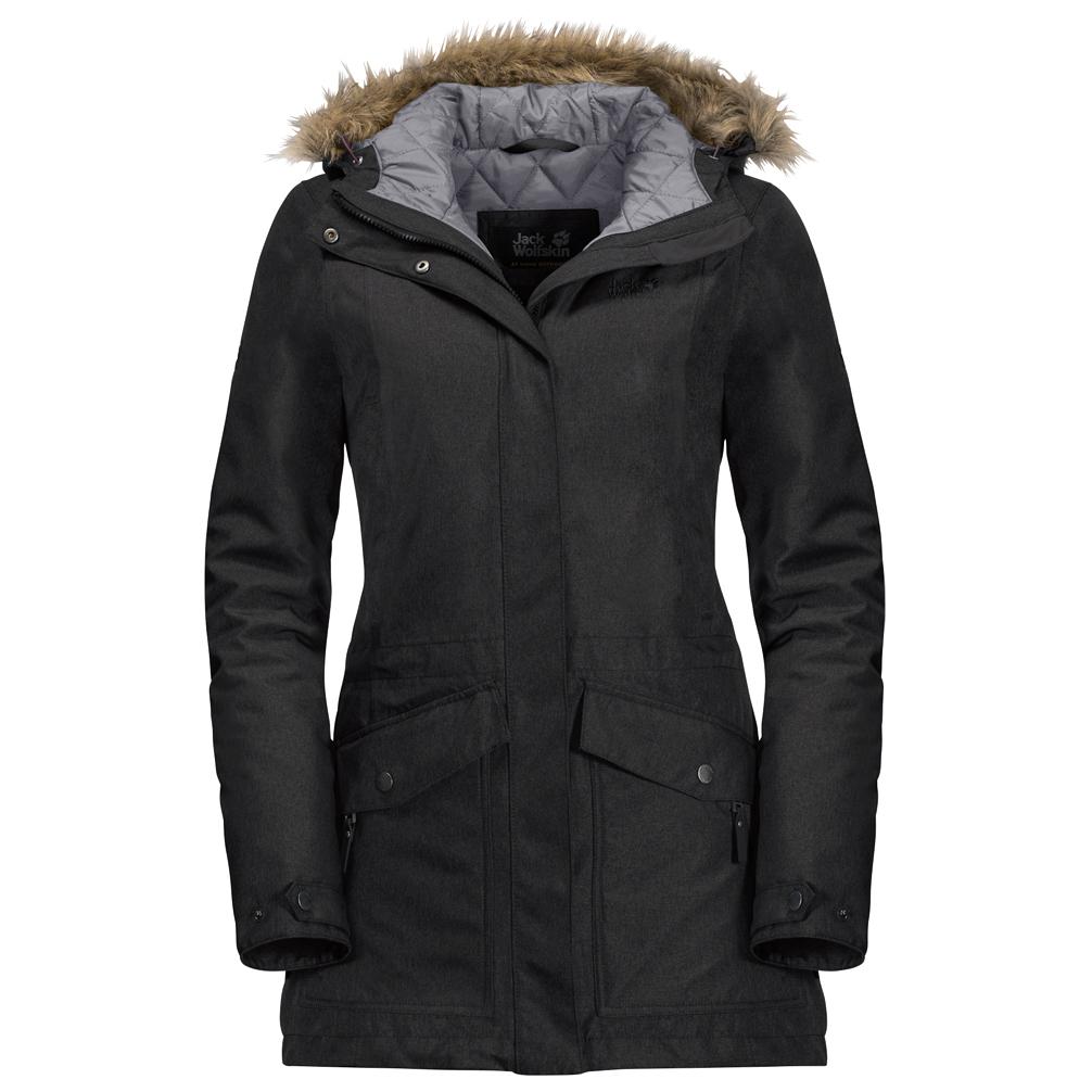 niedriger Preis 50-70% Rabatt Outlet-Boutique Jack Wolfskin - Women's Coastal Range Parka - Coat - Greenish Grey | XS