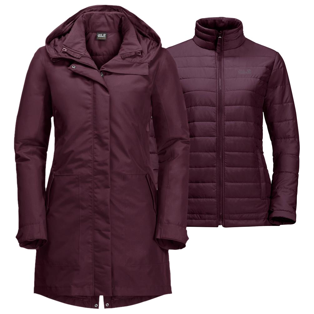 Jack Wolfskin Monterey Bay Coat Dubbel jack Dames online