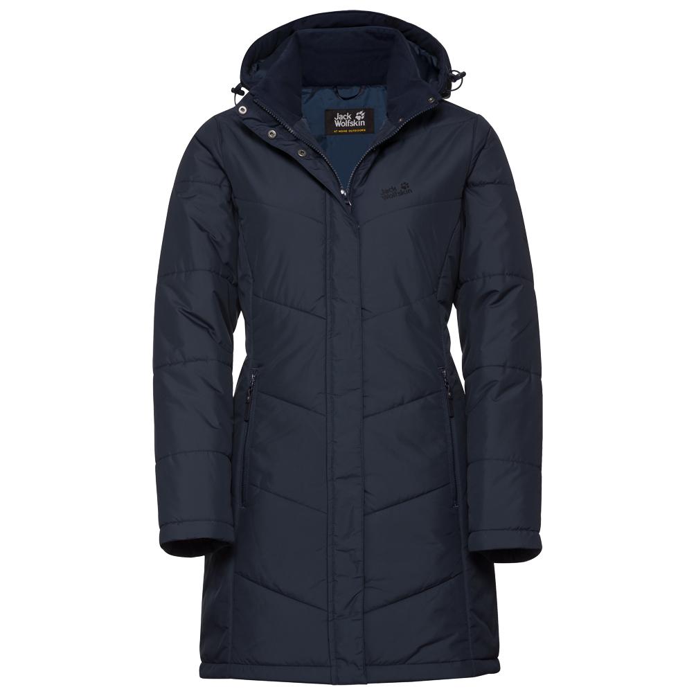 Mantel Coat Jack BlueXs Midnight Svalbard Wolfskin Women's Nwv08nm