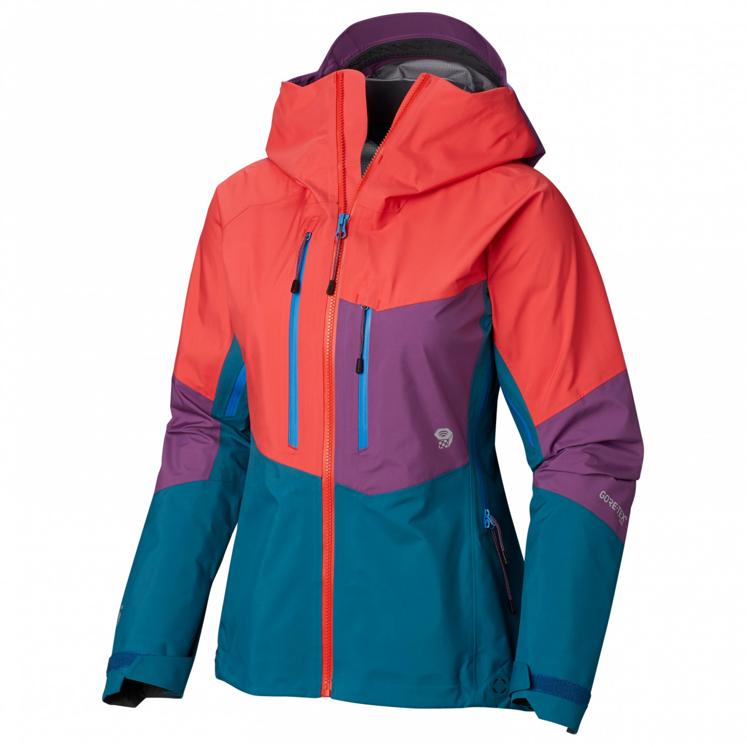 quality design cf58f 12430 Mountain Hardwear - Women's Exposure/2 Gore-Tex Pro Jacket - Regenjacke -  Fiery Red | S
