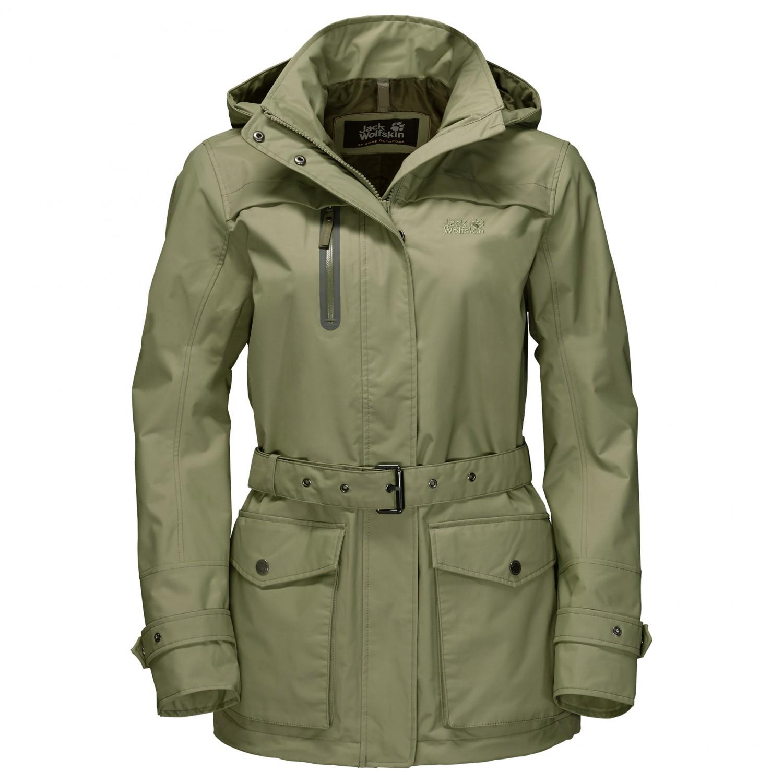 official photos edea7 48429 Jack Wolfskin - Women's Kimberley Parka - Waterproof jacket - Khaki | M