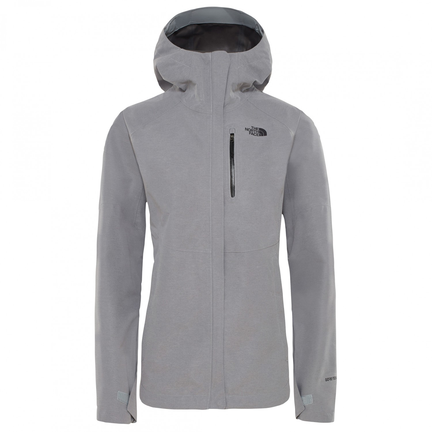 best service ccc04 7519b The North Face - Women's Heather Dryzzle Jacket - Regenjacke - TNF Medium  Grey Heather | XS