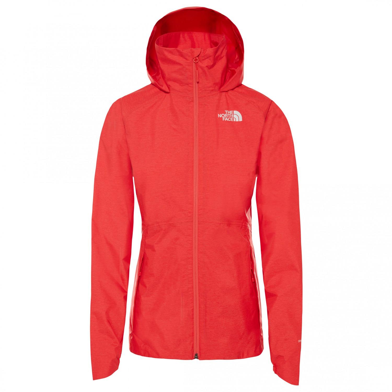 online retailer f5fcf 4f0b6 The North Face - Women's Inlux DryVent Jacket - Regenjacke - Four Leaf  Clover White Heather   S