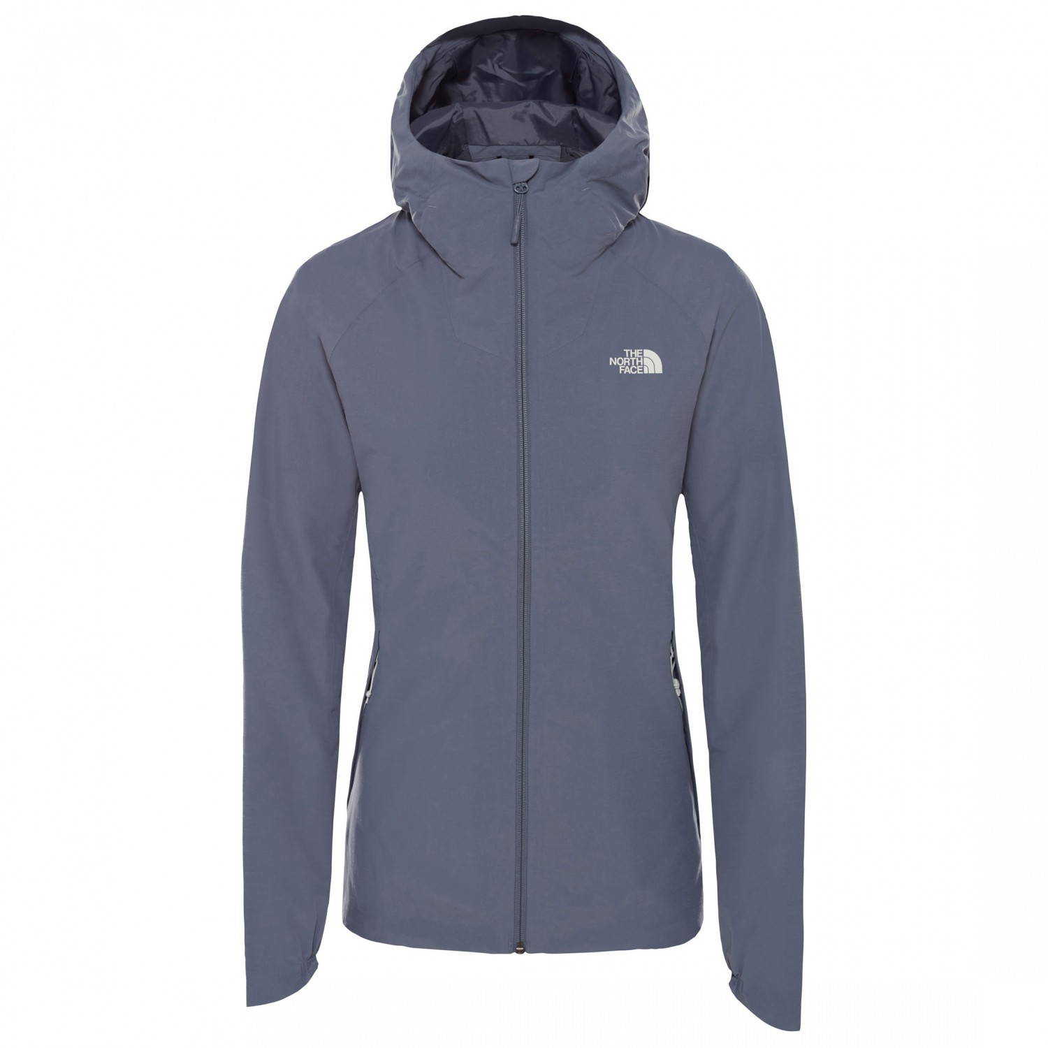 038c0c5e2 The North Face - Women's Invene Jacket - Waterproof jacket - Tin Grey /  Grisaille Grey | L