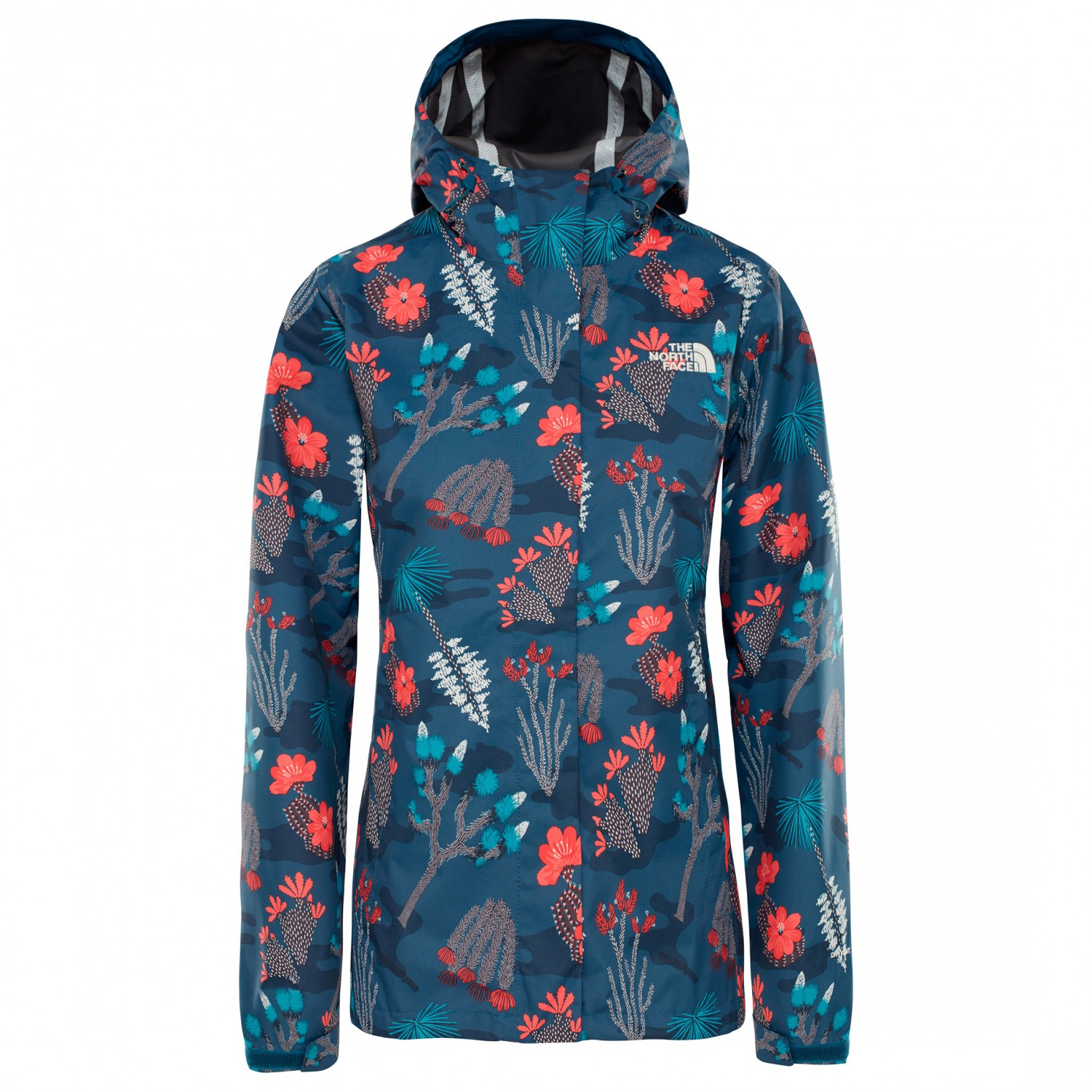 finest selection 2f426 58f2e The North Face - Women's Print Venture Jacket - Regenjacke - Blue Wing Teal  Joshua Tree Print | XS