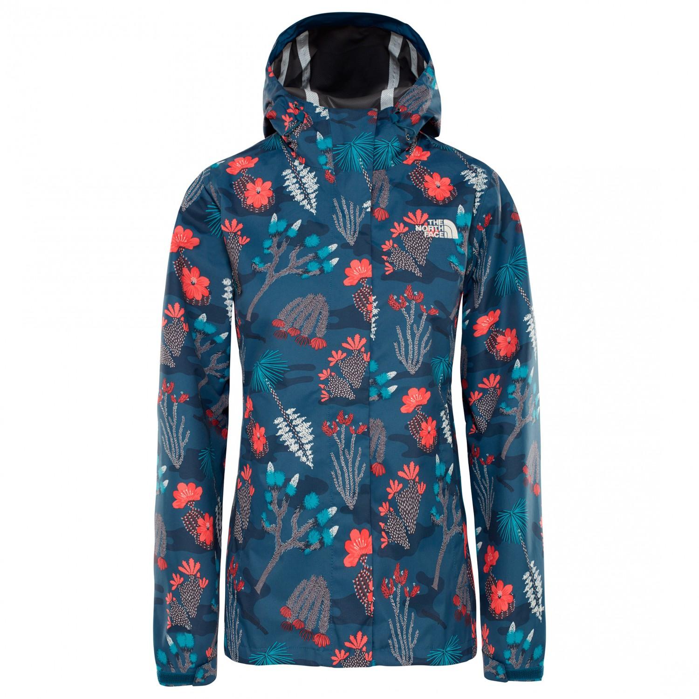 71556f876 The North Face - Women's Print Venture Jacket - Veste imperméable - Blue  Wing Teal Joshua Tree Print   XS