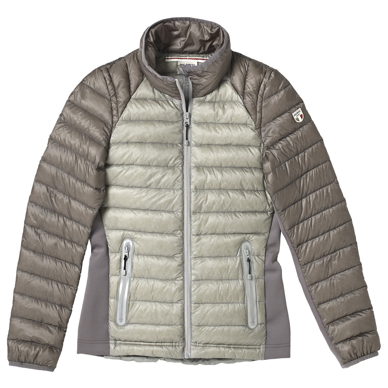Dolomite Women's Jacket Cinquantaquattro Sporty Daunenjacke Stone Grey Smog Grey | XS