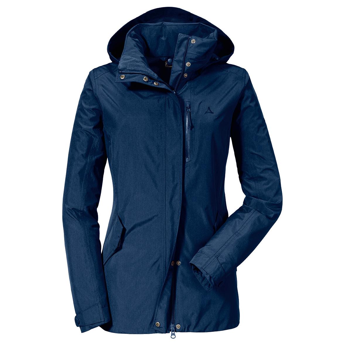 Genieße den niedrigsten Preis helle n Farbe neueste Schöffel - Women's Zipin! Jacket Fontanella2 - Regenjacke - Beet Red   40  (EU)