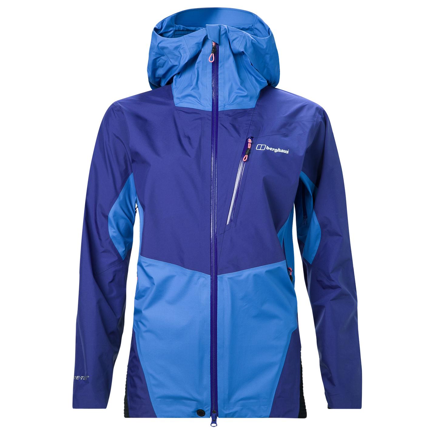 new concept ce8f6 25f5b Berghaus - Women's Changtse Shell Jacket - Waterproof jacket - Blue  Graphite / Carbon / Black | 8 (UK)