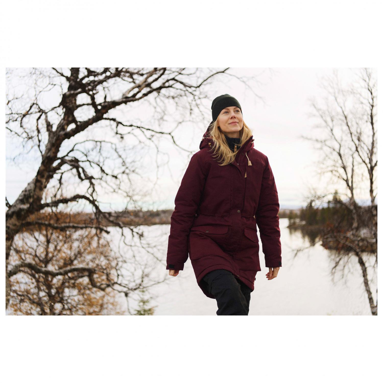 Fjällräven Women's Singi Wool Padded Parka Långjacka Deep Forest   XXS