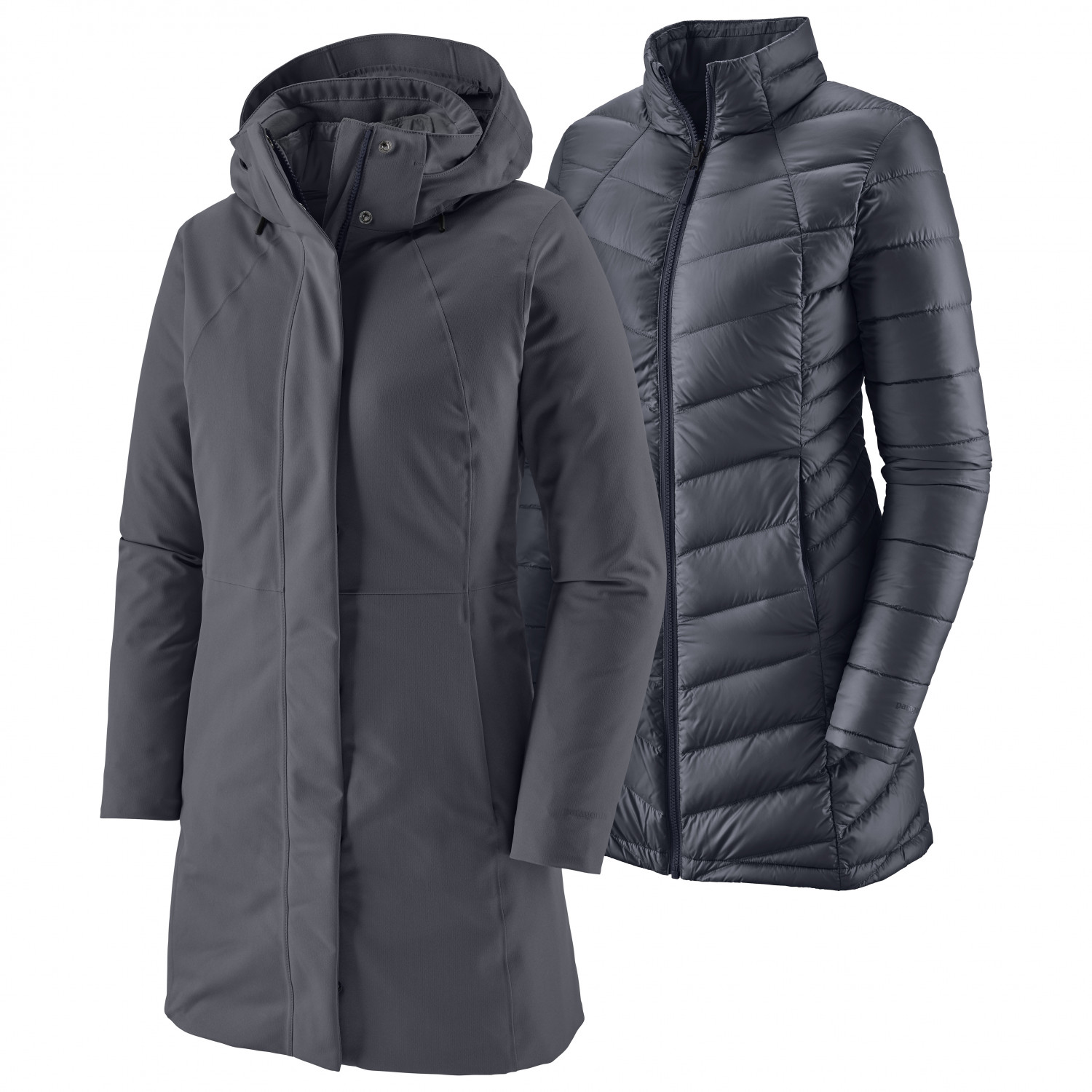 Patagonia Tres 3 in 1 Parka Women feather grey