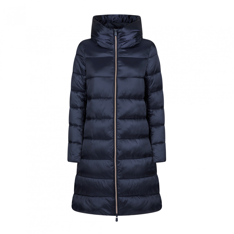 Save the Duck Women's Iris9 Coat Mantel Blue Black   XL