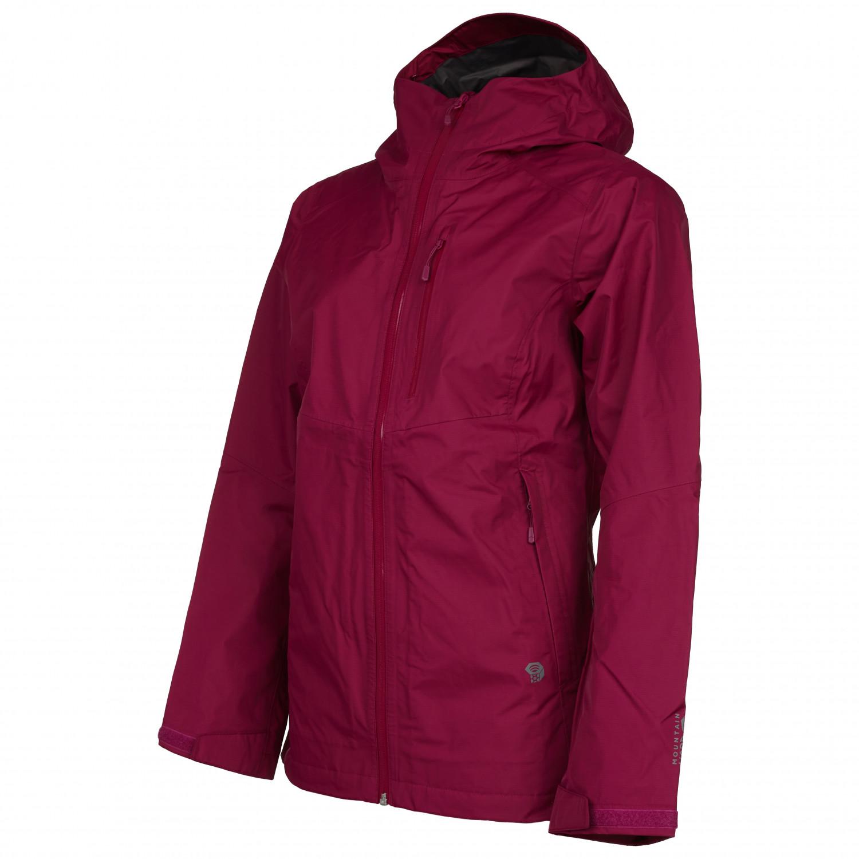 Mountain Hardwear Women's Exposure2 Gore Tex Paclite Jacket Regnjakke Void | XS