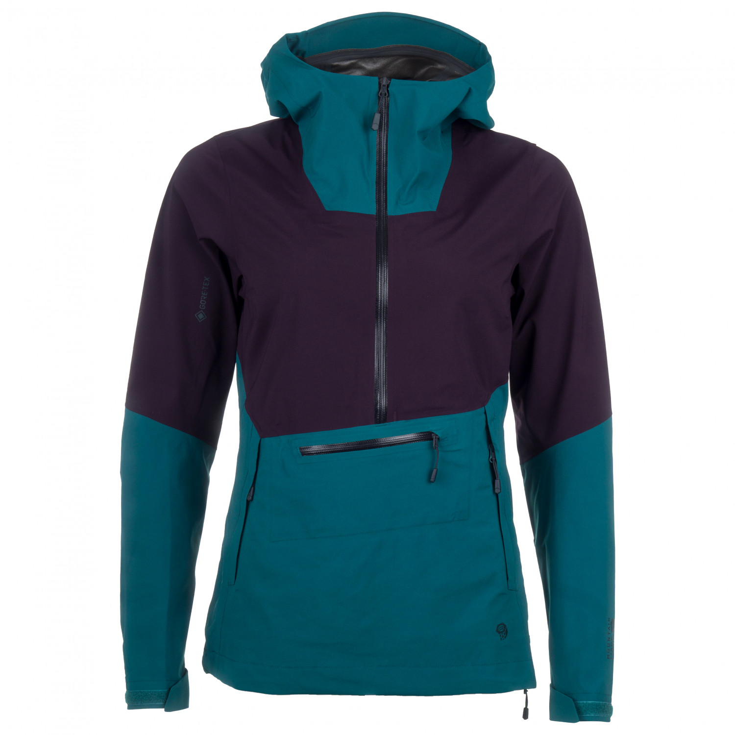 attractivefashion check out purchase genuine Mountain Hardwear - Women's Exposure/2 Gore-Tex Paclite Pullover -  Waterproof jacket - Dive | XS