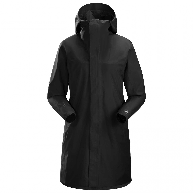Arc'teryx Women's Solano Coat Mantel Black   S