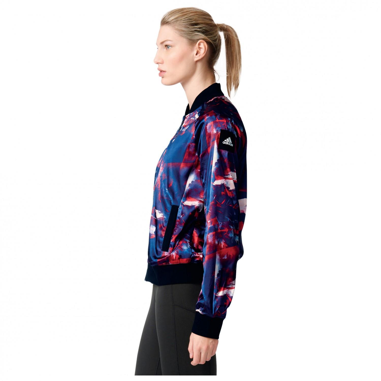 adidas Women's Flower Bomber Jacket Casual jacket