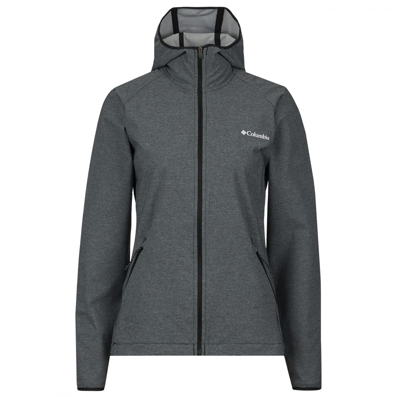 on sale 904cc 73115 Columbia - Women's Heather Canyon Softshell Jacket - Giacca softshell -  Black | XL