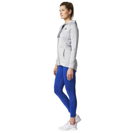 207d24f44d ... adidas - Women's Hoodie & Tight Tracksuit - Training jacket ...