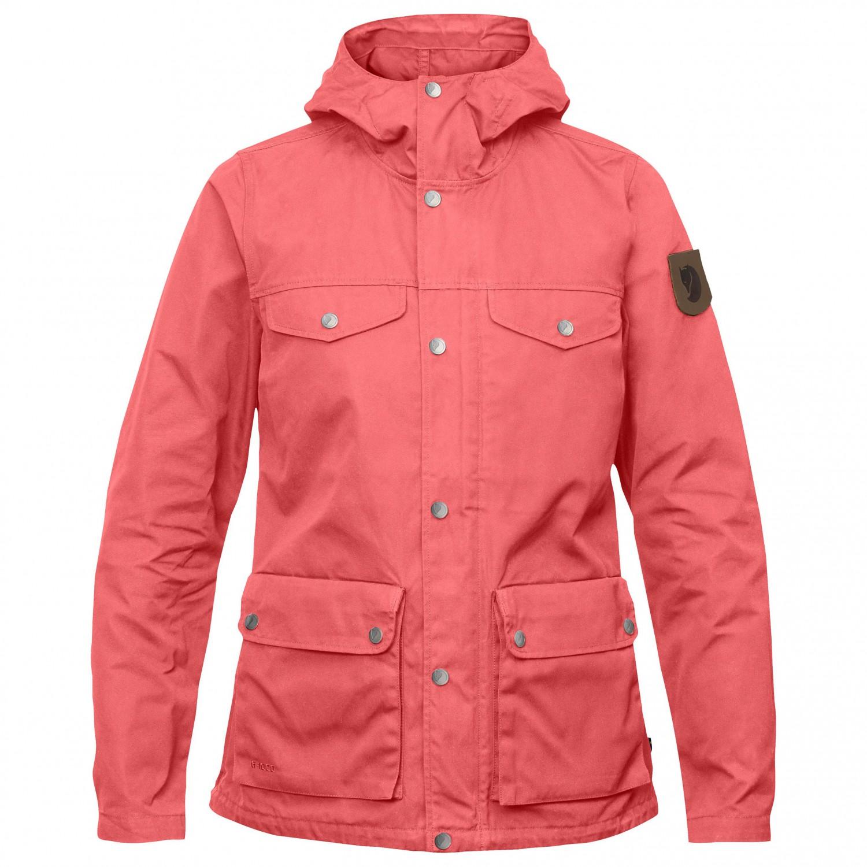 in stock various design wholesale sales Fjällräven - Women's Greenland Jacket - Freizeitjacke - Peach Pink | XS