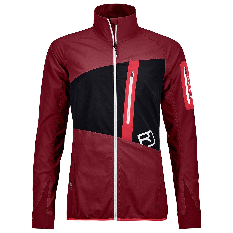 Ortovox Women's Tofana Jacket Softshelljacke Dark Blood | XS