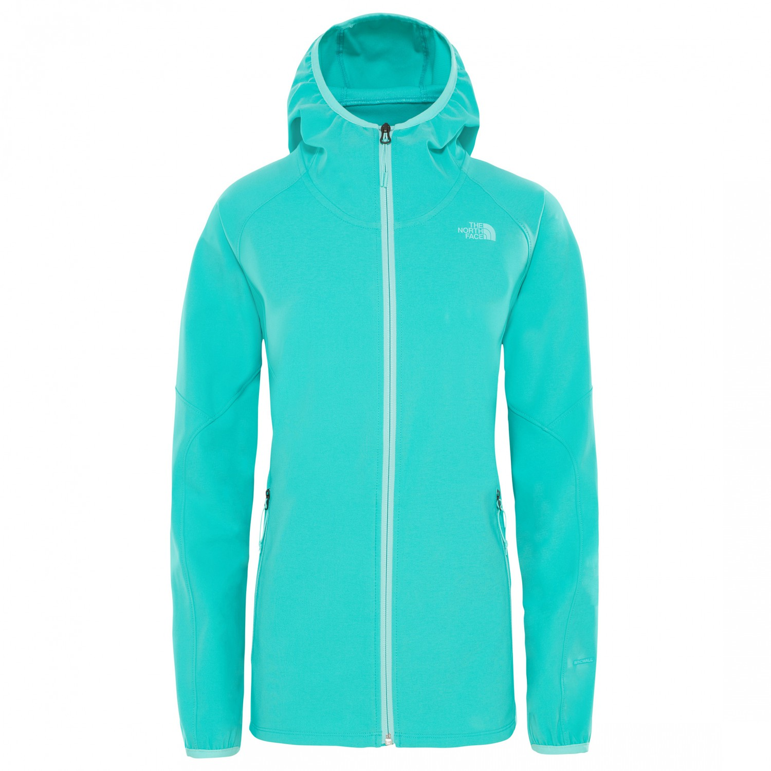 72d87e76e The North Face - Women's Apex Nimble Hoodie - Softshell jacket - Ion Blue |  XS