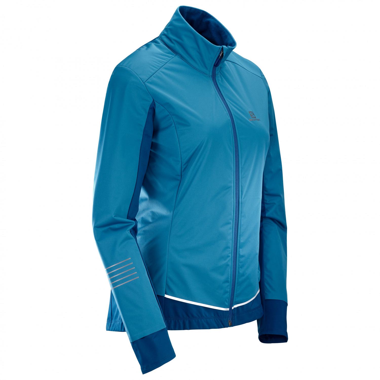 Salomon Women's Lightning Lightshell Jacket Längdåkningsjacka Lyons Blue | XS
