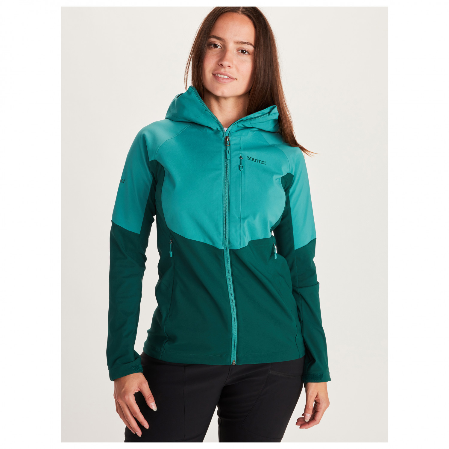 Softshell Jacket Marmot Wms Rom Jacket Breathable Water Repellent Anorak Outdoor Jacket