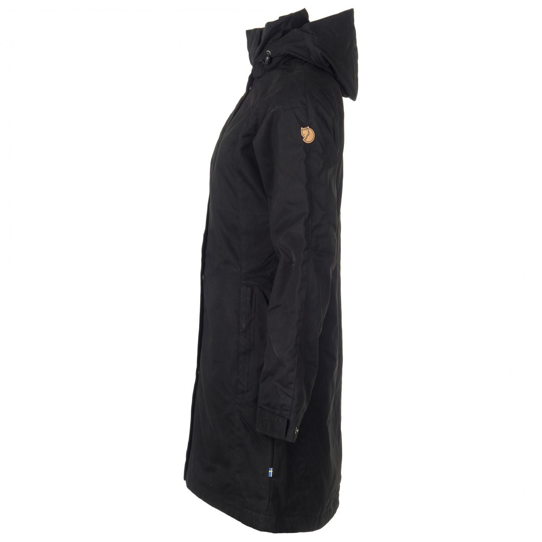 Fjällräven Women's Una Jacket Synthetisch jack Black | XS