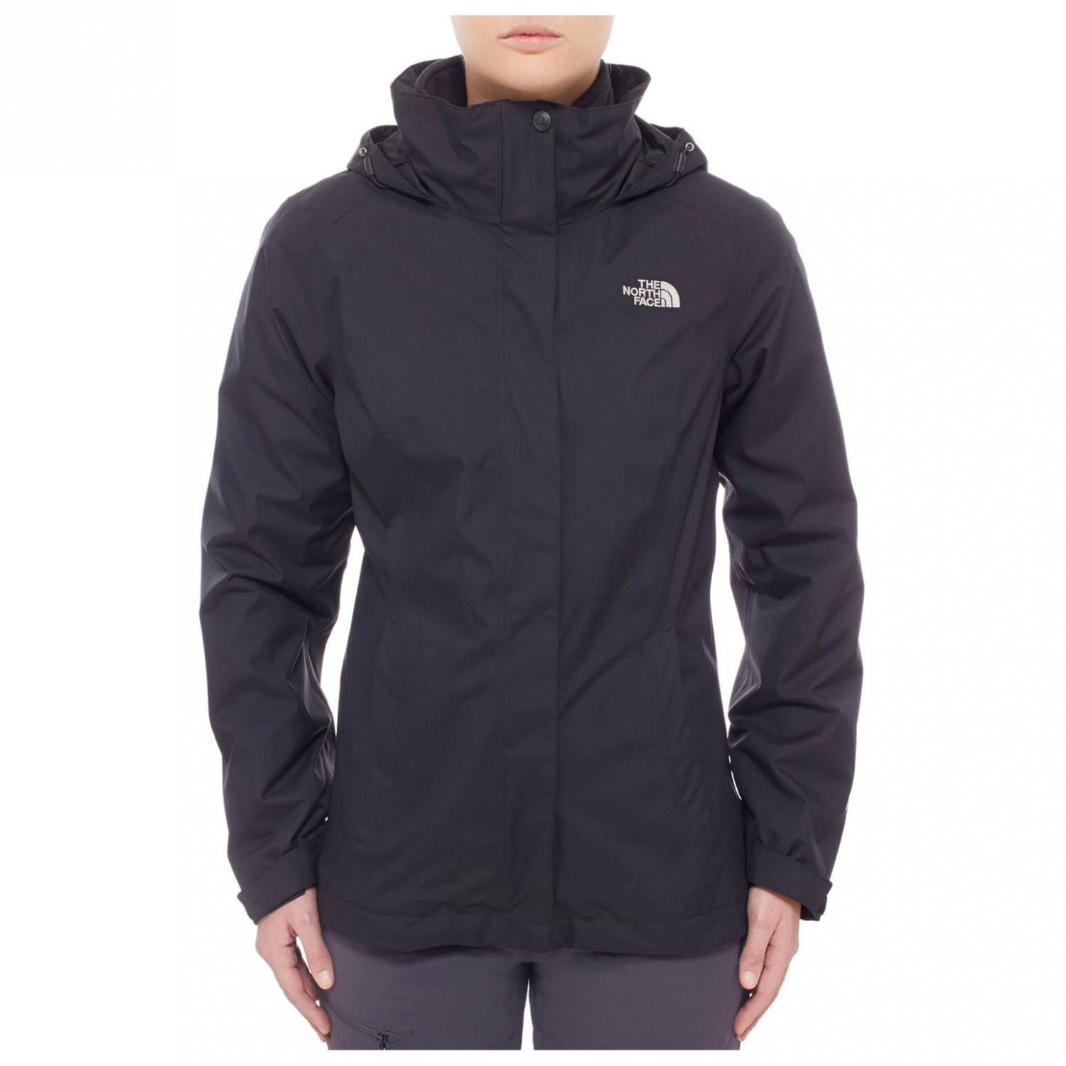 the north face evolve ii triclimate jacket women 39 s free. Black Bedroom Furniture Sets. Home Design Ideas