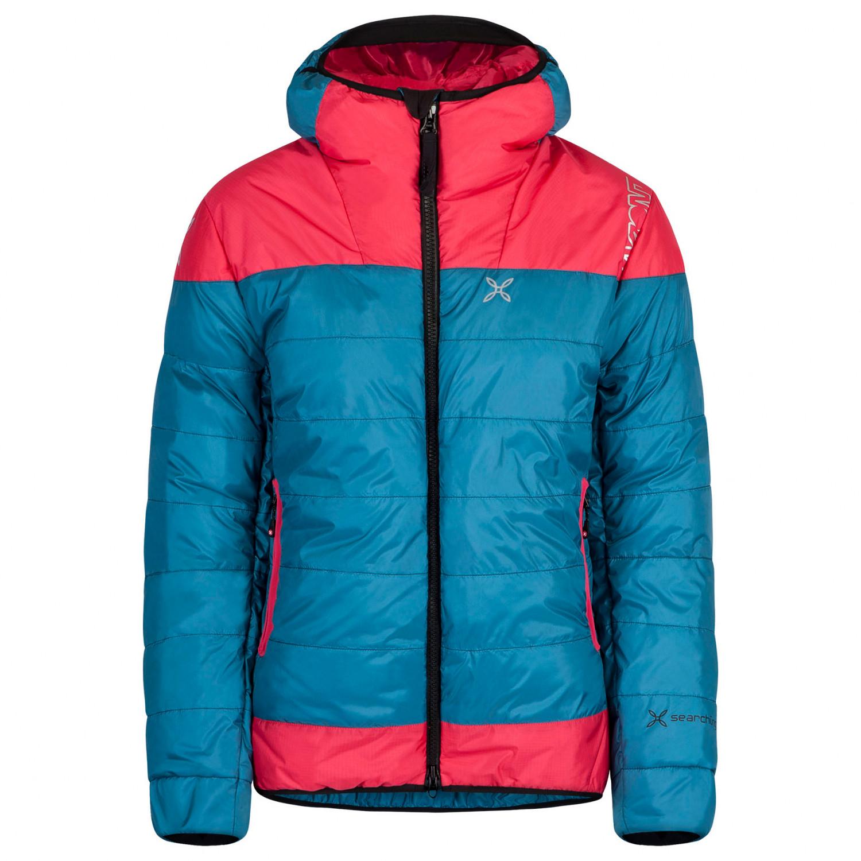 Montura Women's Summit Duvet Down jacket Blu Cenere Ice Blue   S