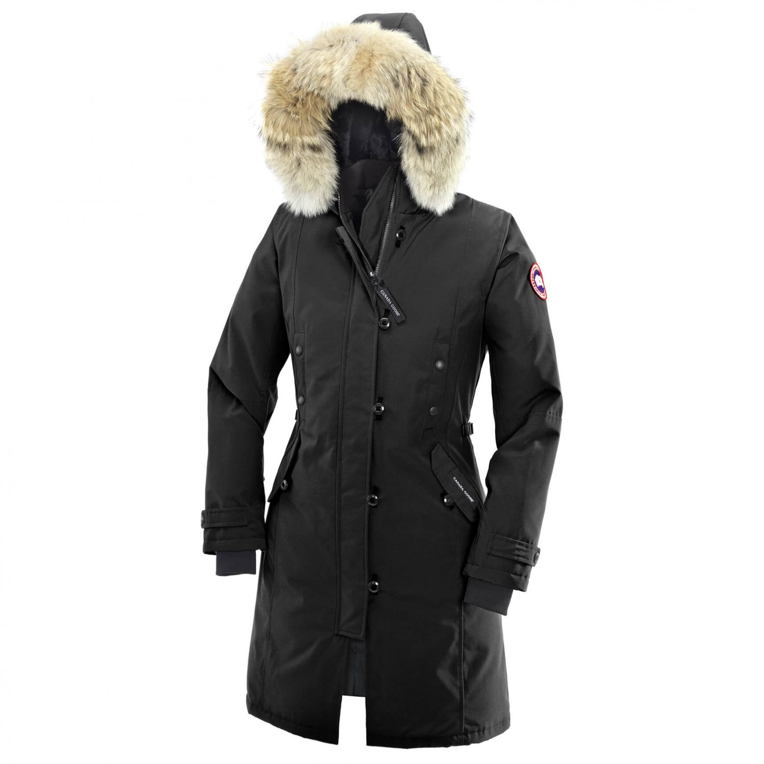 canada goose black winter coat