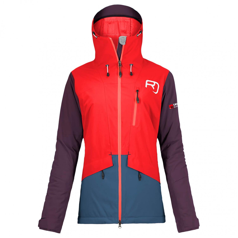 ortovox 2l black andermatt jacket veste de ski femme livraison gratuite. Black Bedroom Furniture Sets. Home Design Ideas