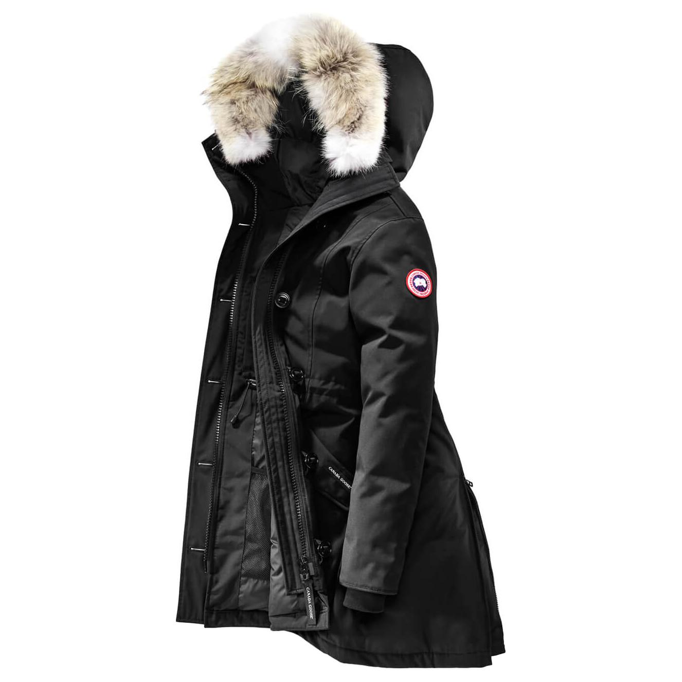 Rossclair Canada Goose Parka ElderberryXs Coat Ladies TKJ3c1Fl