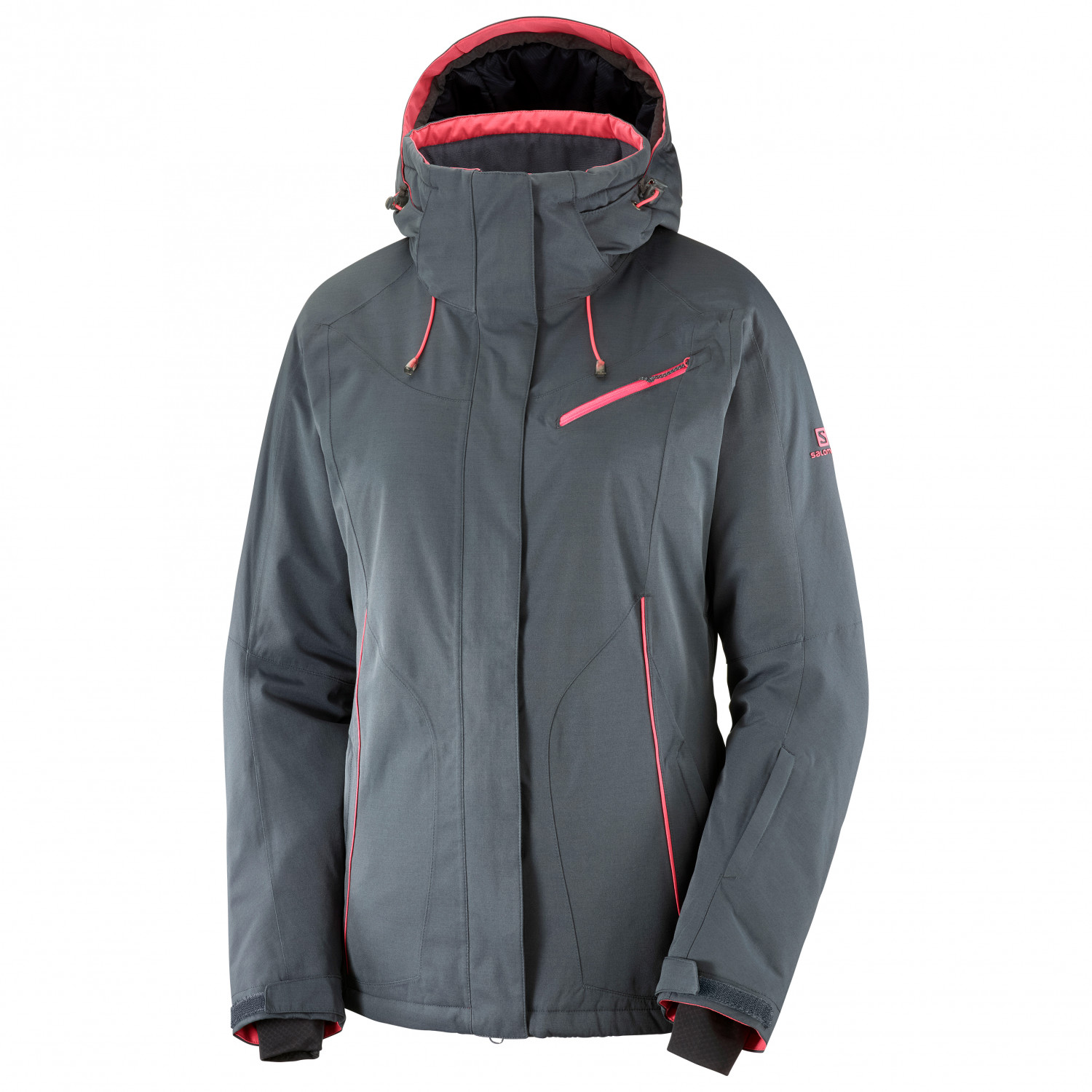 Salomon Women's Fantasy Jacket Giacca da sci Lunar Rock | S