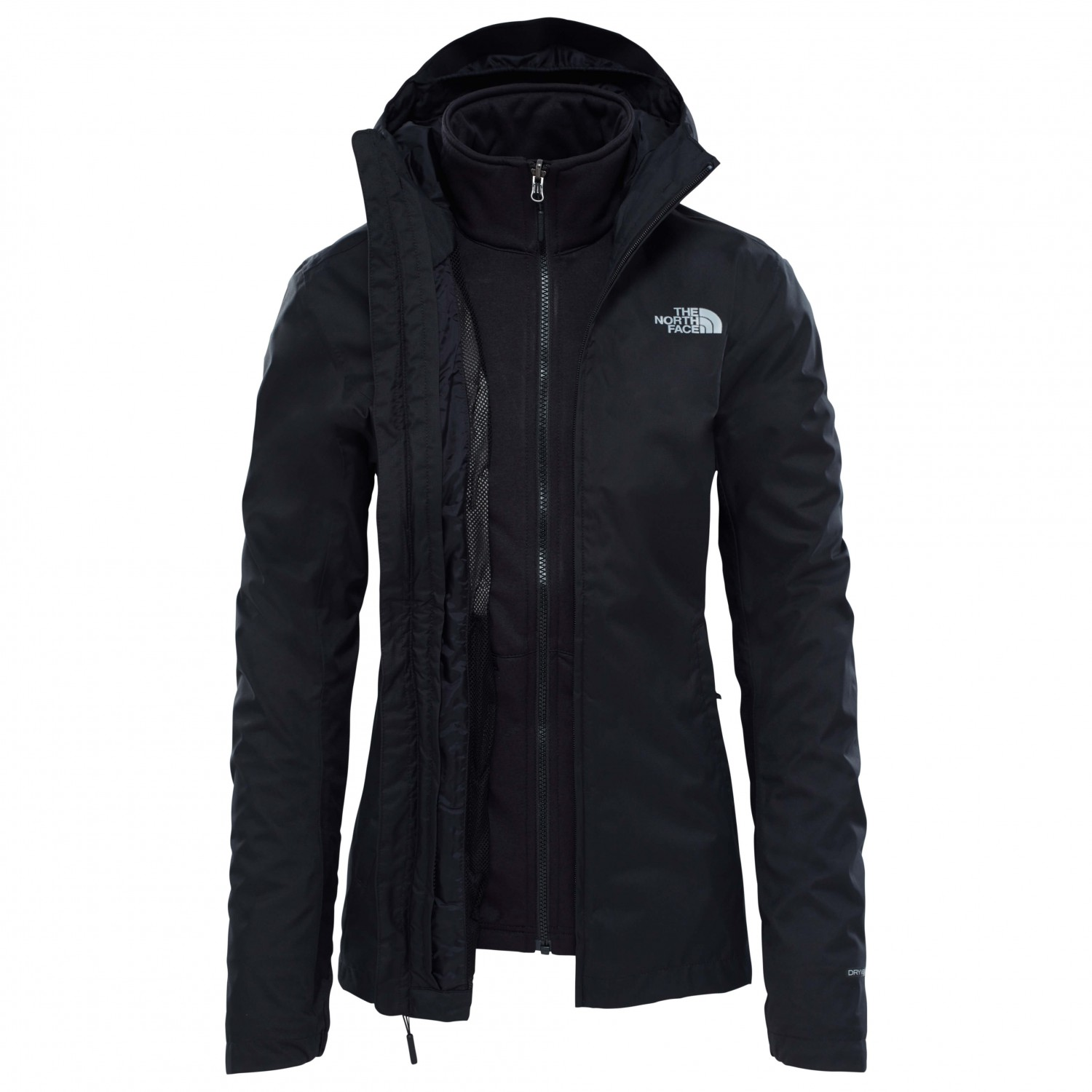 09379eeb1 The North Face - Women's Tanken Triclimate Jacket - 3-in-1 jacket - TNF  Black | XS