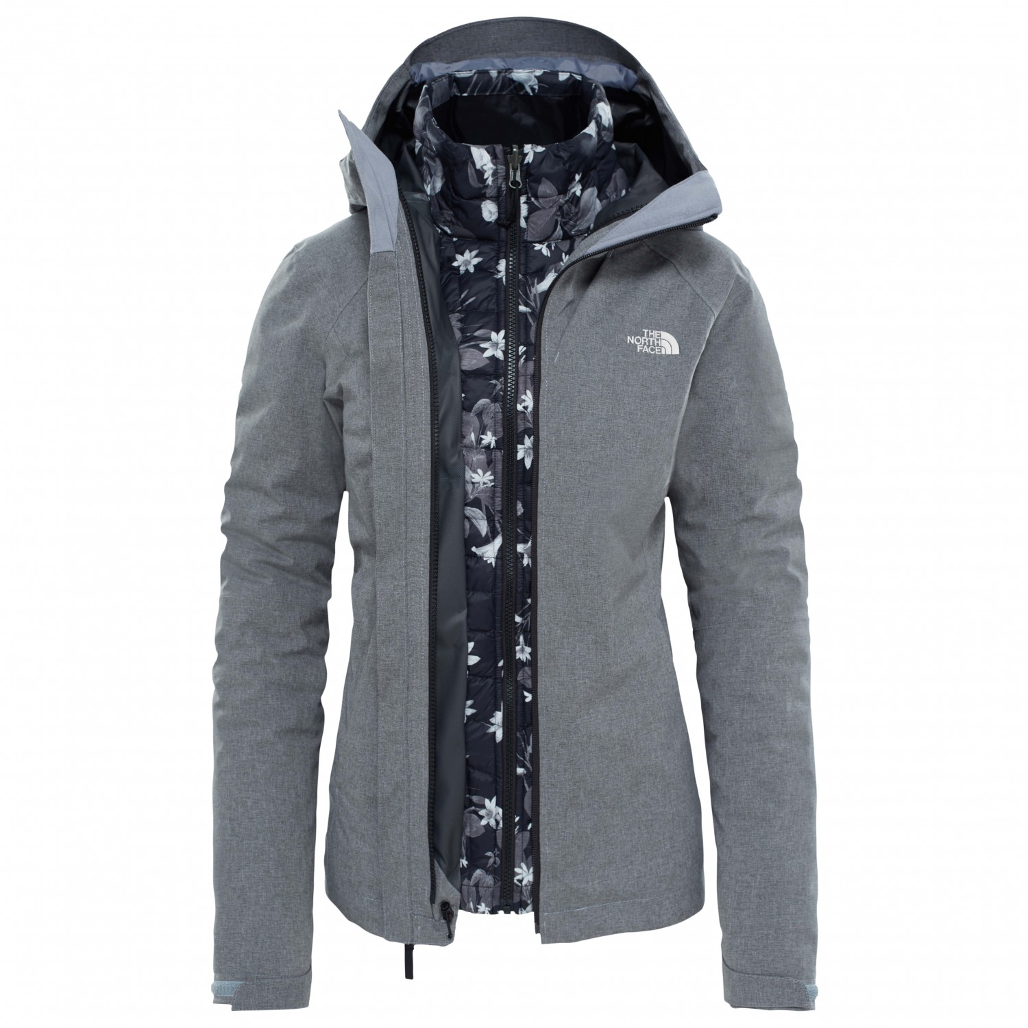 b6c92836c7 ... The North Face - Women's Thermoball Triclimate Jacket - Veste doublée  ...