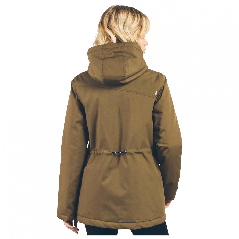 volcom venson jacket synthetic jacket women 39 s free uk delivery. Black Bedroom Furniture Sets. Home Design Ideas