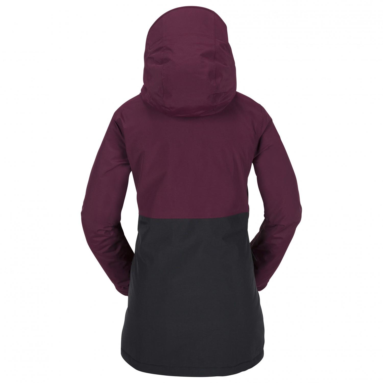 volcom bow ins gore tex jacket skijacke damen online kaufen. Black Bedroom Furniture Sets. Home Design Ideas