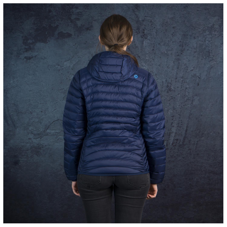 new product 3c0ea 9336d Marmot - Women's Aruna Hoody - Daunenjacke - Mallard Green | XS