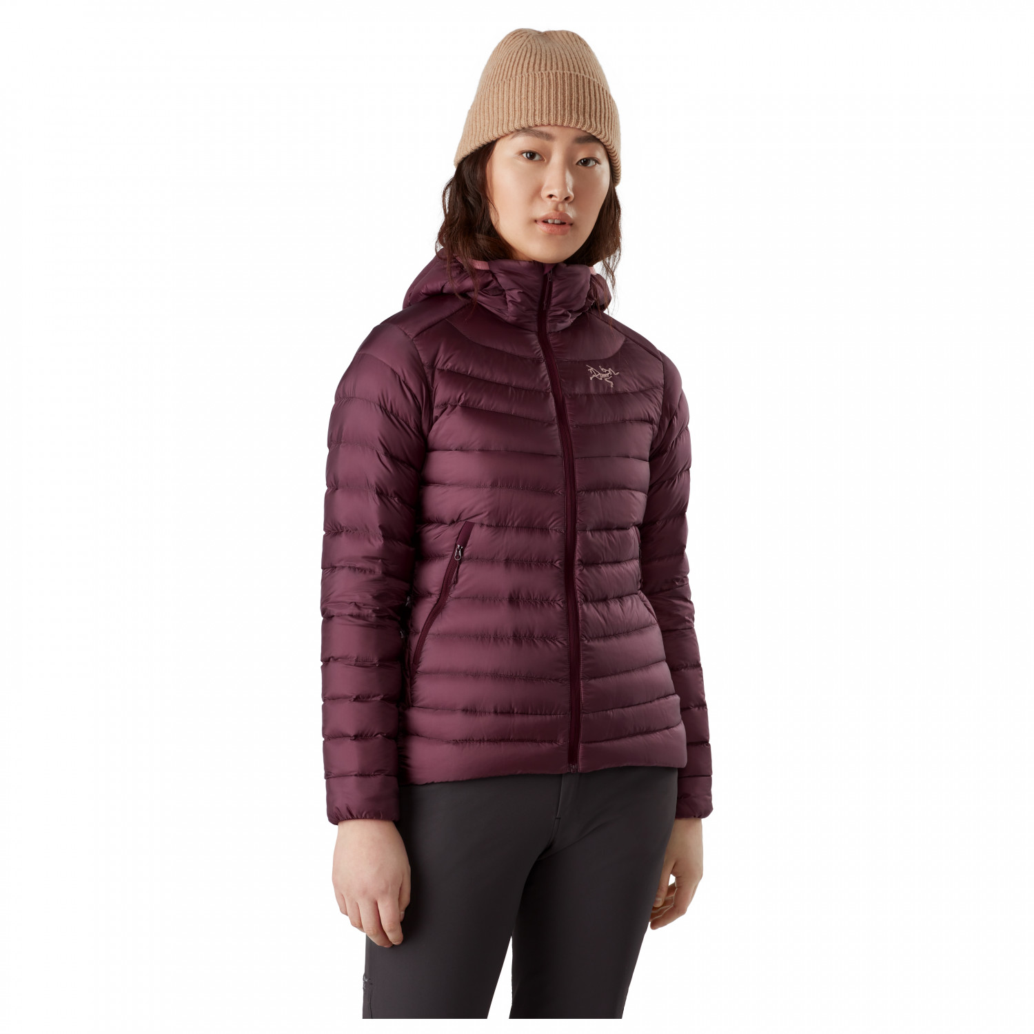 Cerium LT Slim Fit Quilted Ripstop Hooded Down Jacket