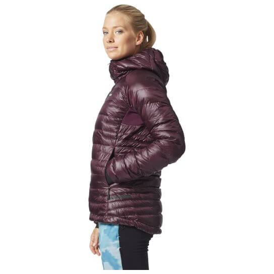 Adidas Terrex Climaheat Agravic Down Hooded Jacke - Down ...