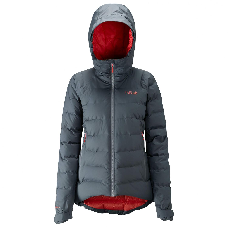 cheaper 59d07 a42e0 Rab - Women's Valiance Jacket - Daunenjacke - Atlantis   08 (UK)