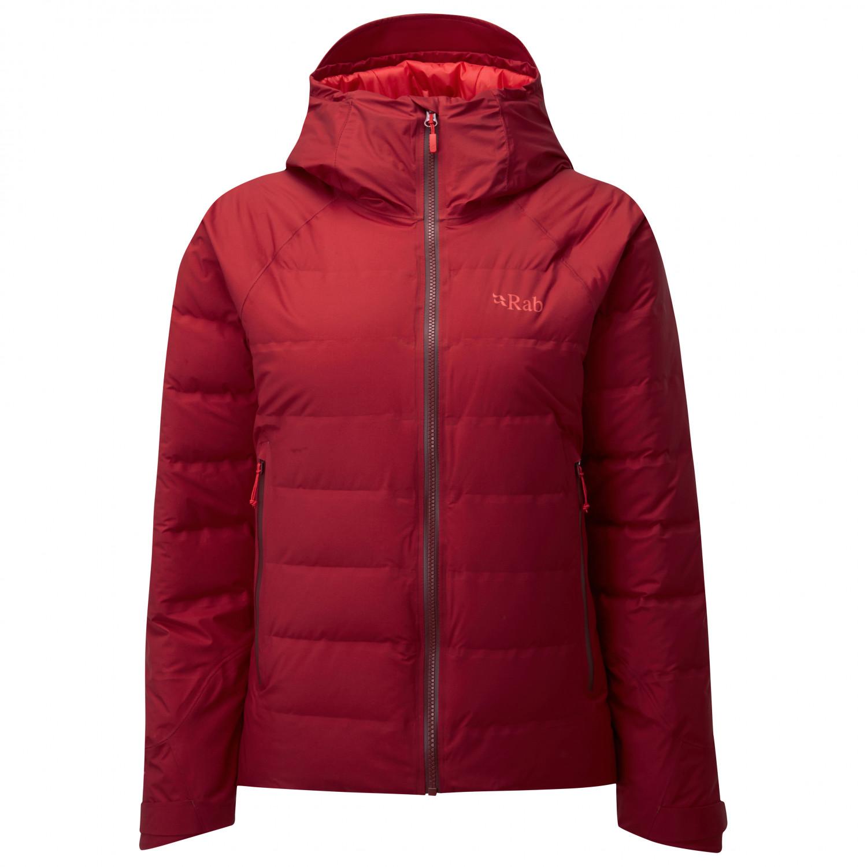 Rab Doudoune Valiance Jacket Women's Crimson08UK HWIYE29D