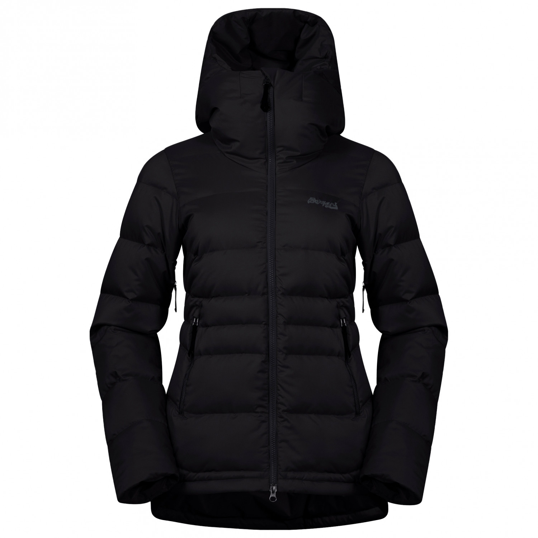 Bergans Women's Stranda Down Hybrid Jacket Skijakke Dark Navy Dark Fog Blue | XS