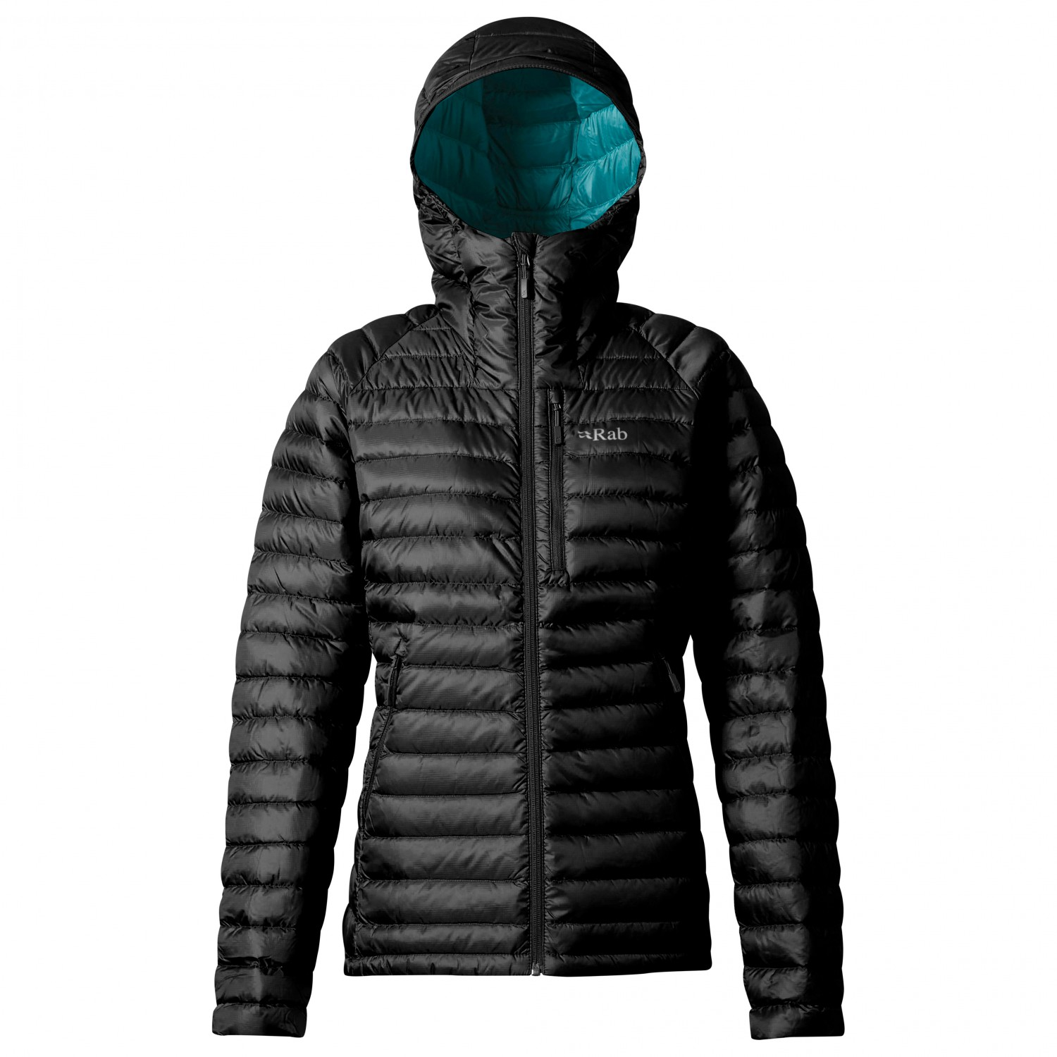Rab Women's Microlight Alpine Long Doudoune Atlantis Cascade | 8 (UK)