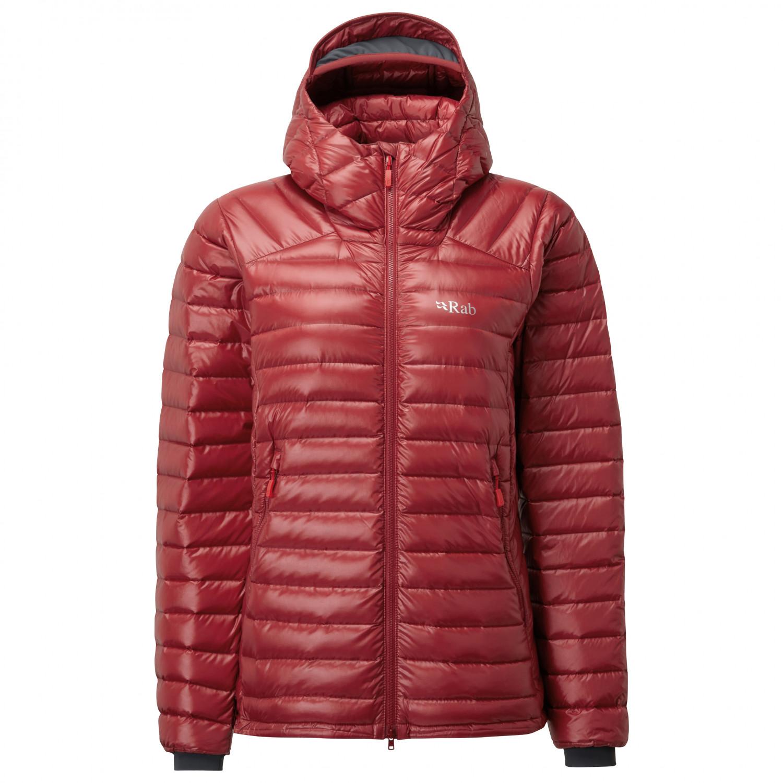 Royaume-Uni disponibilité a4092 40190 Rab - Women's Microlight Summit Jacket - Doudoune - Crimson | 08 (UK)
