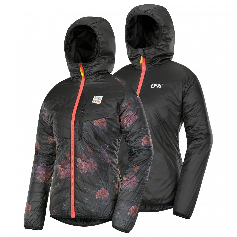 d76143ee8c Picture - Women's Chloe - Synthetic jacket - Flower Print | XS